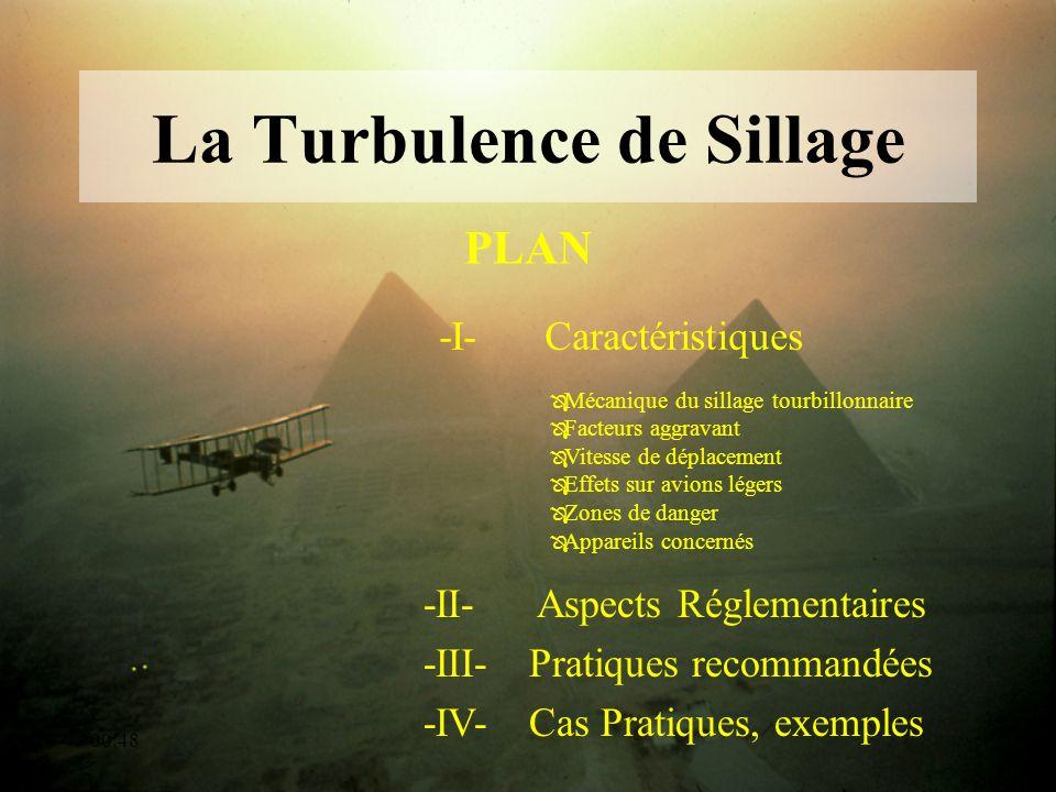 00:50 La Turbulence de Sillage -I-Caractéristiques PLAN -II- Aspects Réglementaires -III- Pratiques recommandées -IV-Cas Pratiques, exemples Ô Mécaniq