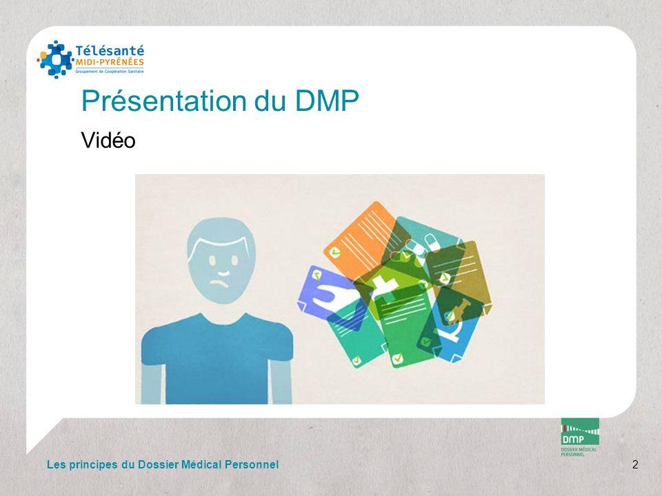 Annexes Articles du Code de la Santé Publique 13 Les principes du Dossier Médical Personnel