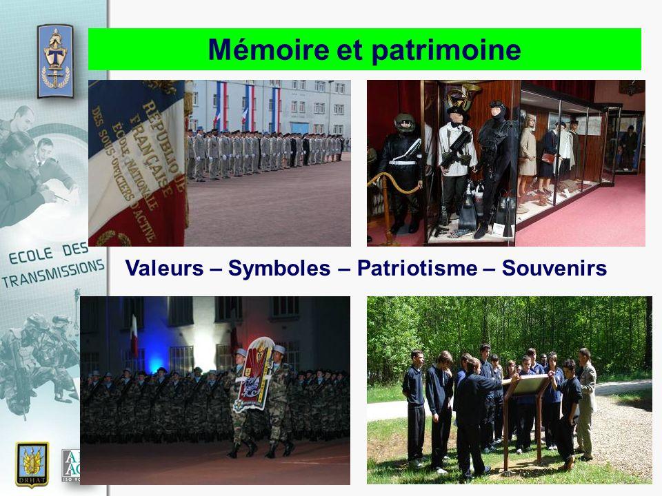 17 novembre 2010 Mémoire et patrimoine Valeurs – Symboles – Patriotisme – Souvenirs