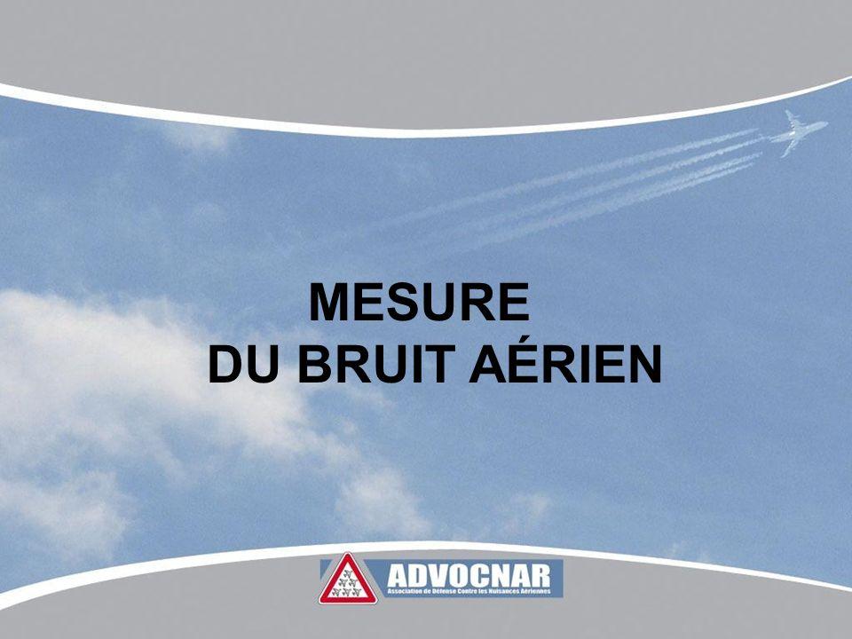 MESURE DU BRUIT AÉRIEN