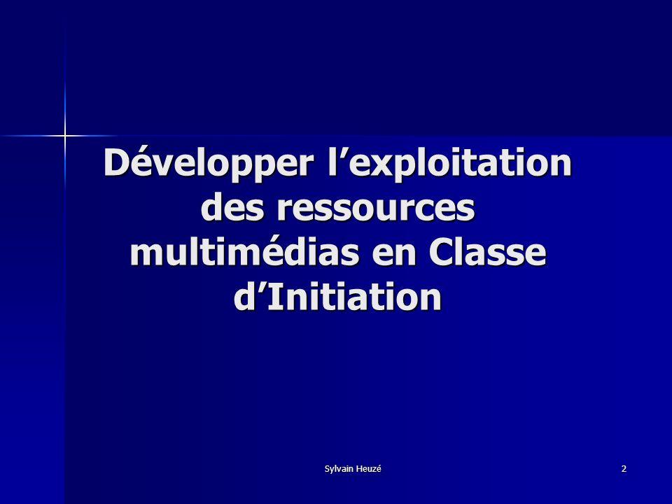 Sylvain Heuzé3 Finalité Améliorer lintégration et la réussite scolaire des enfants nouvellement arrivés en France en développant leur autonomie.