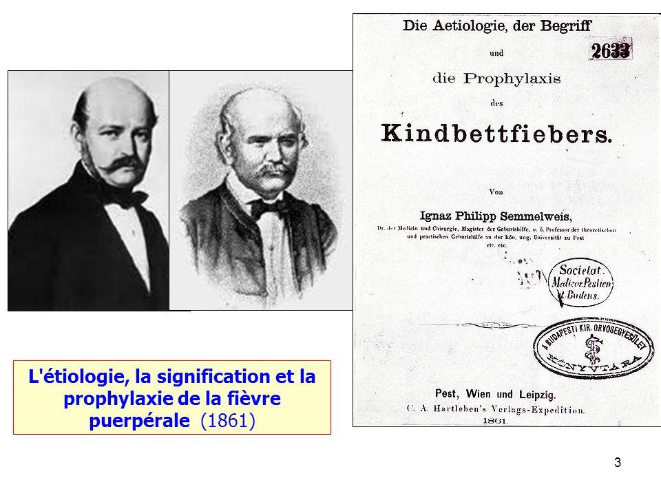3 L'étiologie, la signification et la prophylaxie de la fièvre puerpérale (1861)