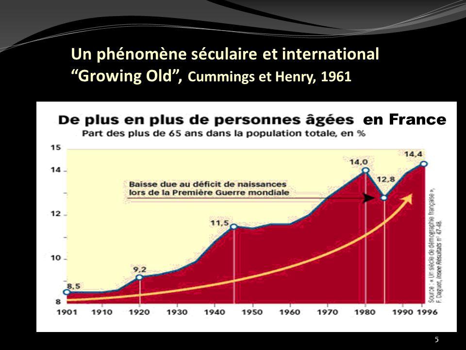 5 Un phénomène séculaire et international Growing Old, Cummings et Henry, 1961 en France