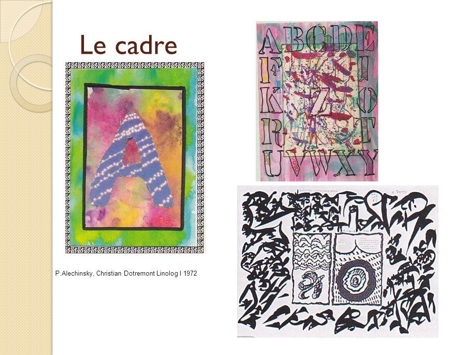 La référence à des artistes P.Alechinsky Papier ligné 1978 encre et aquarelle sur manuscrit ancien P.Klee Villas florentines 1926 C.Viallat sans titre 1981