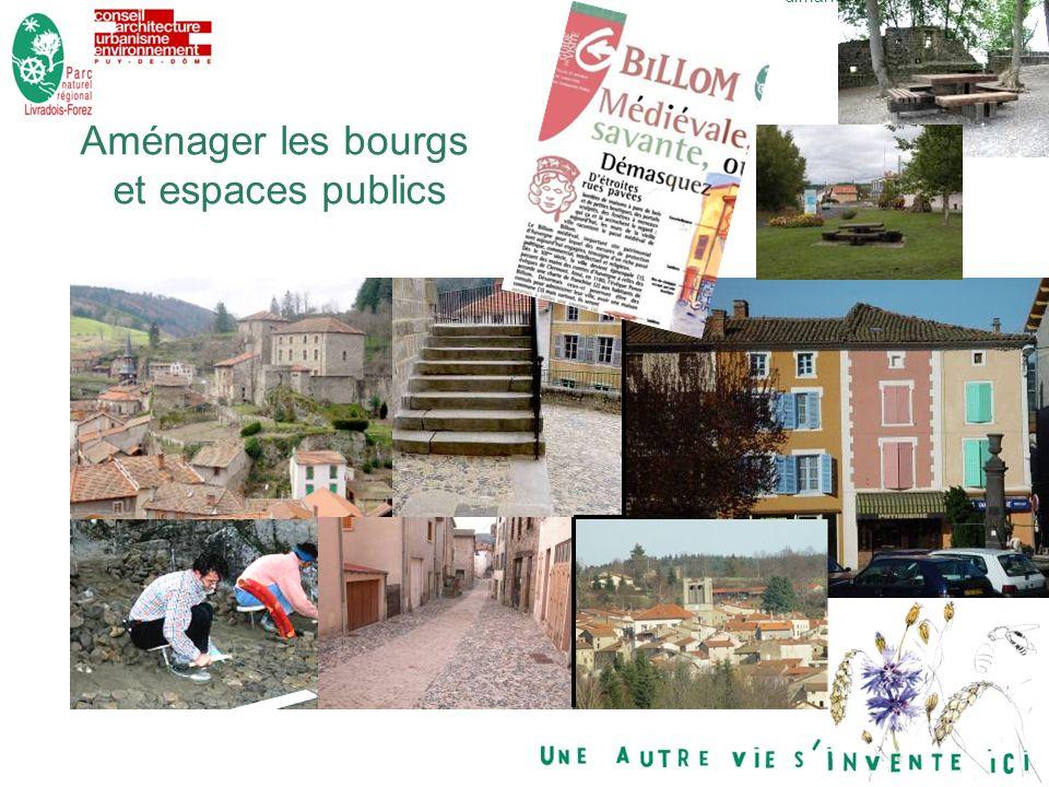 14dimanche 29 décembre 2013 Aménager les bourgs et espaces publics