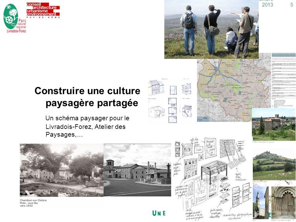 5dimanche 29 décembre 2013 Construire une culture paysagère partagée Un schéma paysager pour le Livradois-Forez, Atelier des Paysages,…