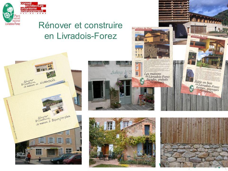 7dimanche 29 décembre 2013 Rénover et construire en Livradois-Forez