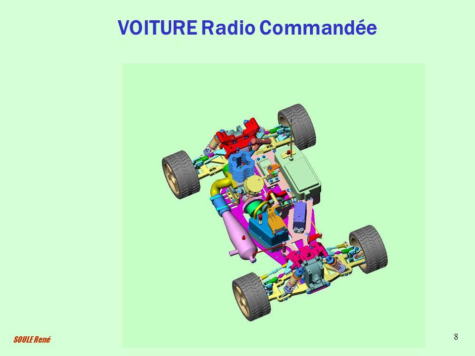 SOULE René 8 VOITURE Radio Commandée