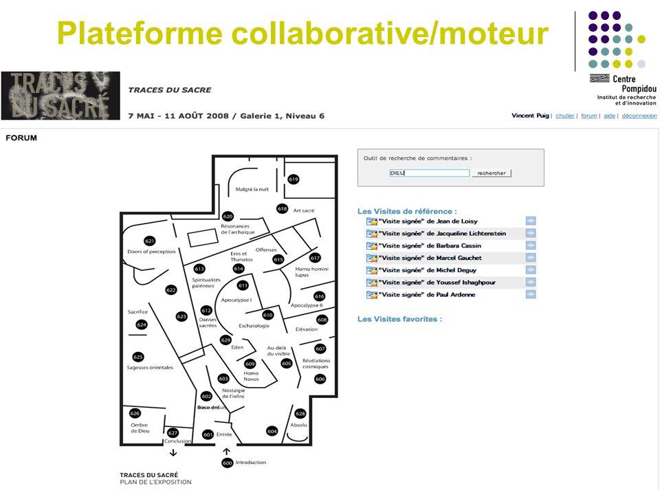 Plateforme collaborative/moteur