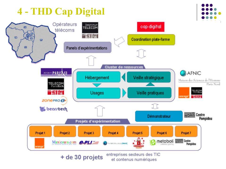 Metadata Text Transcription (audio) Indexing/Extraction (audio, video) 4 - THD Cap Digital