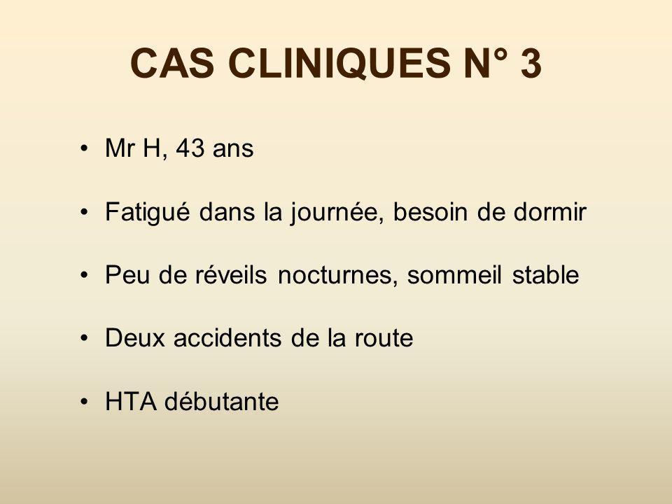 CAS CLINIQUES N° 2 SJSR TT médicamenteux Impatiences des jambes SAOS et HSDE à surveiller