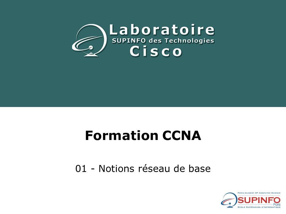 Formation CCNA 01 - Notions réseau de base