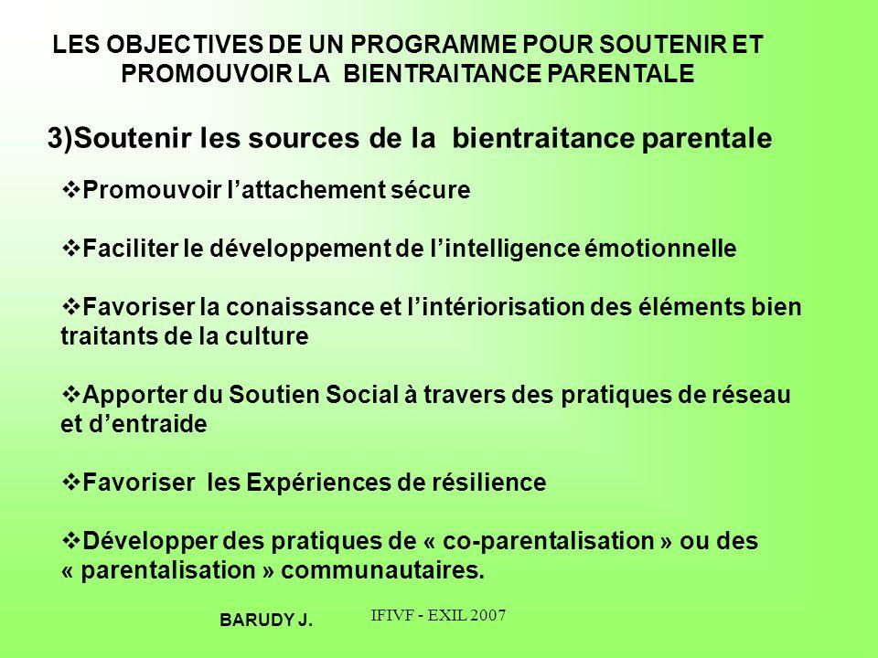 IFIVF - EXIL 2007 LE PROCESUS DE RÉSILIENCE CHEZ LES ENFANTS RÉSILIENCE: La capacité et/ou les ressources pour se développer « sainement » malgré les conditions de vie difficiles.