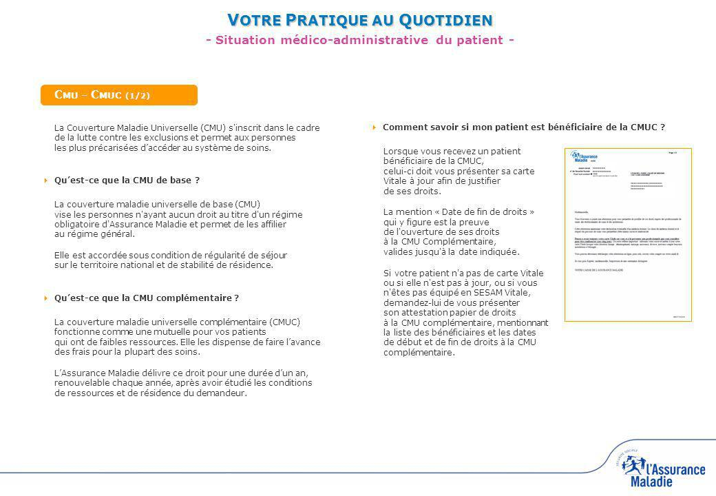 C MU - C MUC (2/2) Comment facturer ma prestation .