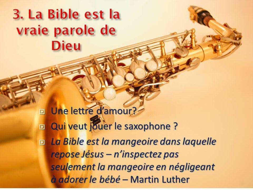 Une lettre damour. Une lettre damour. Qui veut jouer le saxophone .