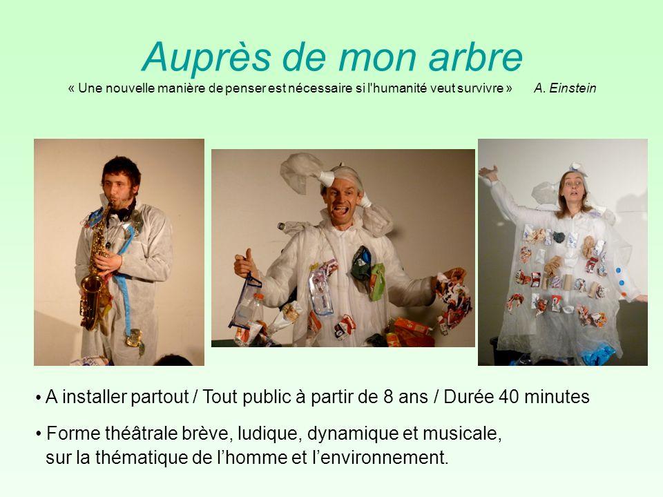 Ce spectacle est le fruit dune commande du Salon du Livre d Histoire des Sciences et des Techniques dIvry-sur-Seine, édition 2011, sur le thème de lhomme et lenvironnement.