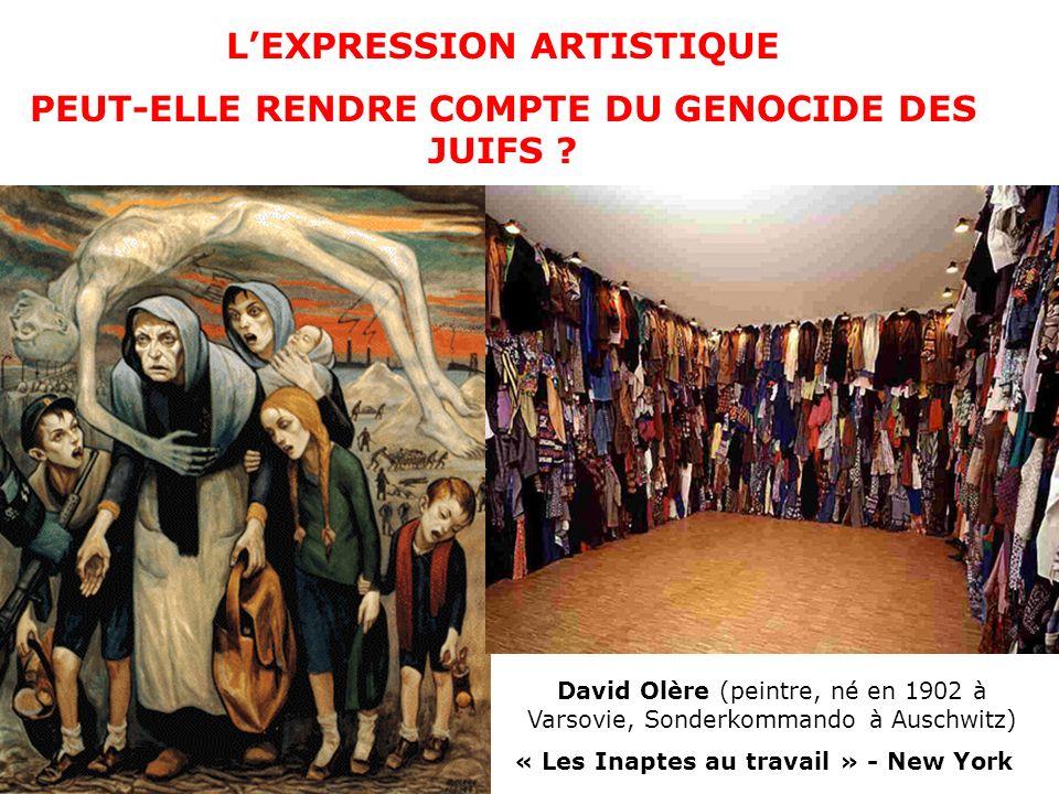 Quelle image, daprès vous, traduit-elle le mieux le génocide dont les juifs furent victimes sous le nazisme .