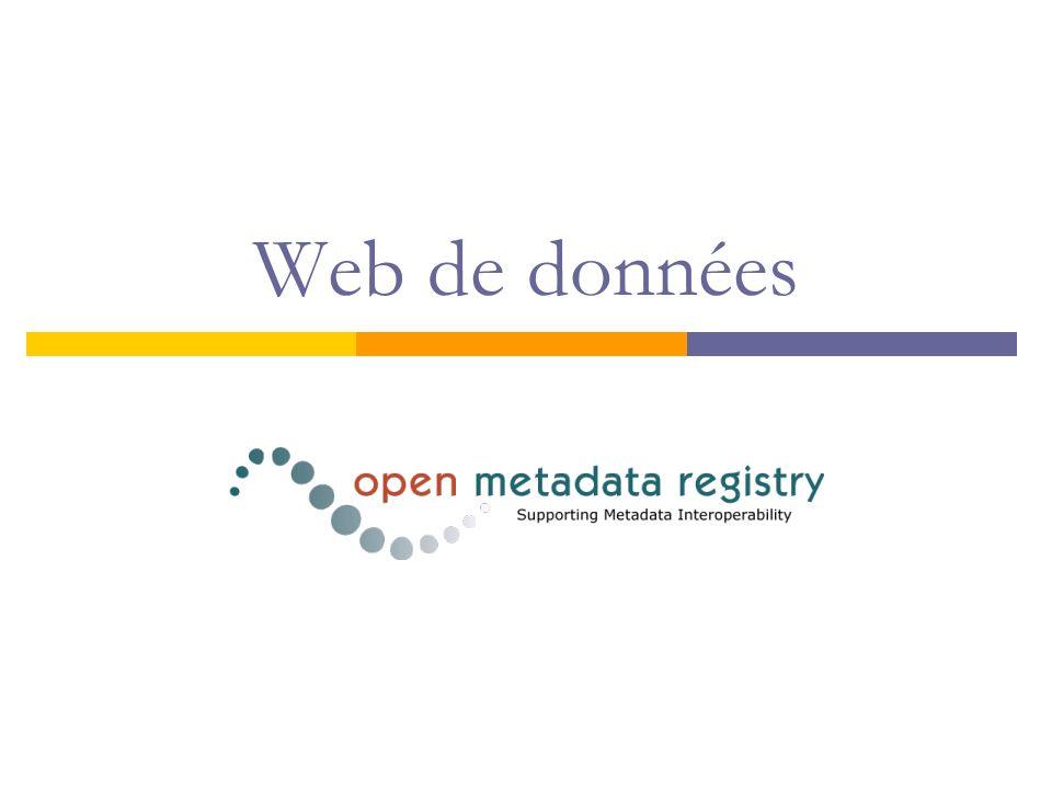 Web de données
