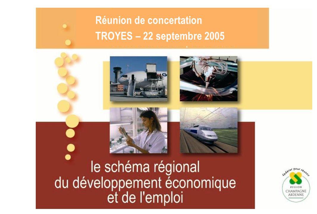Réunion de concertation TROYES – 22 septembre 2005
