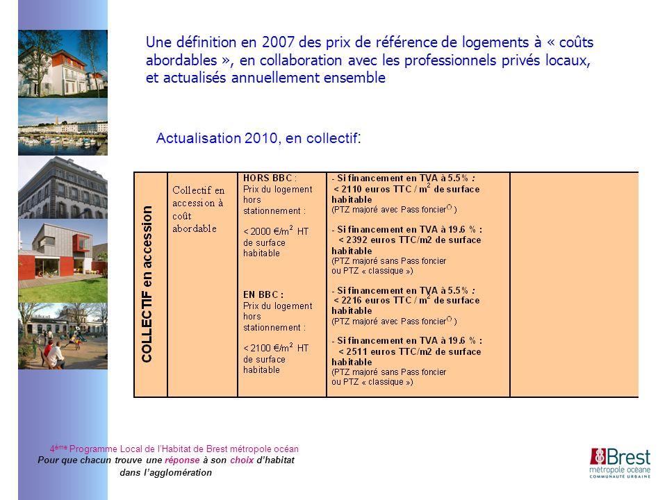 4 ème Programme Local de lHabitat de Brest métropole océan Pour que chacun trouve une réponse à son choix dhabitat dans lagglomération Une définition