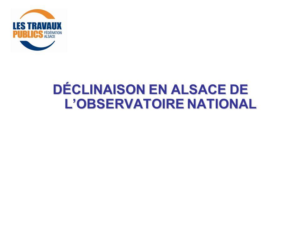 DÉCLINAISON EN ALSACE DE LOBSERVATOIRE NATIONAL