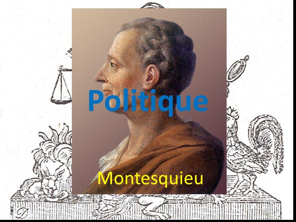 Politique Montesquieu