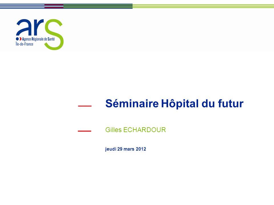 Séminaire Hôpital du futur Gilles ECHARDOUR jeudi 29 mars 2012
