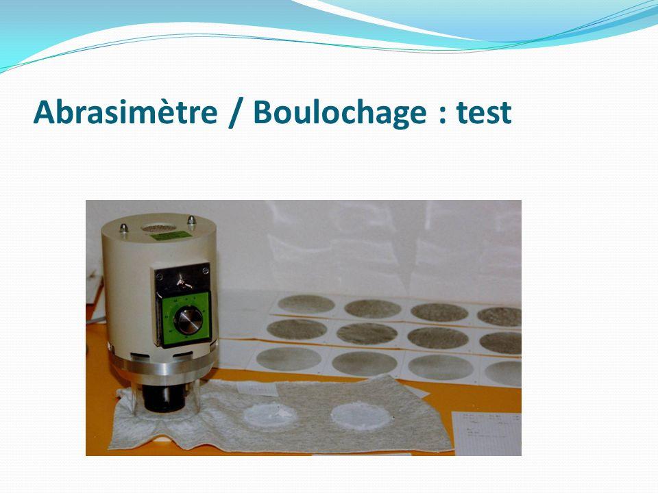 Cylindre creux Détermination de lautodéfroissabilité des étoffes NF EN 22313 ISO 9867.