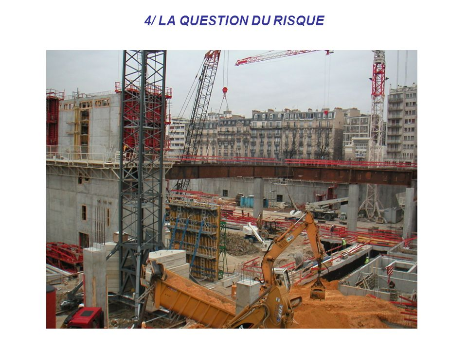 4/ LA QUESTION DU RISQUE