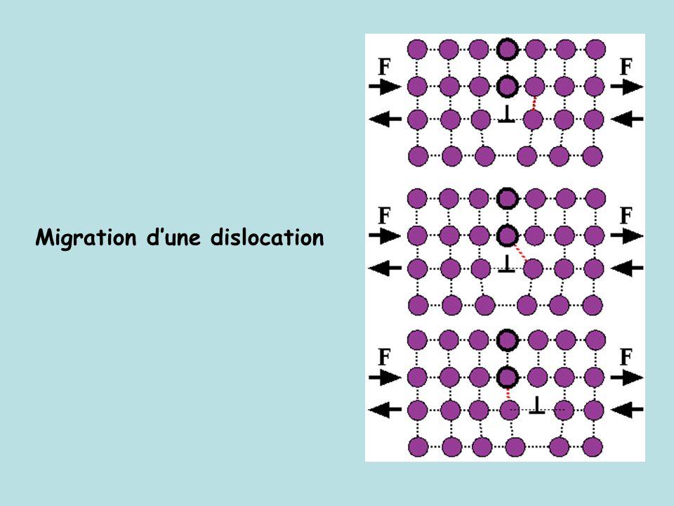 Migration dune dislocation