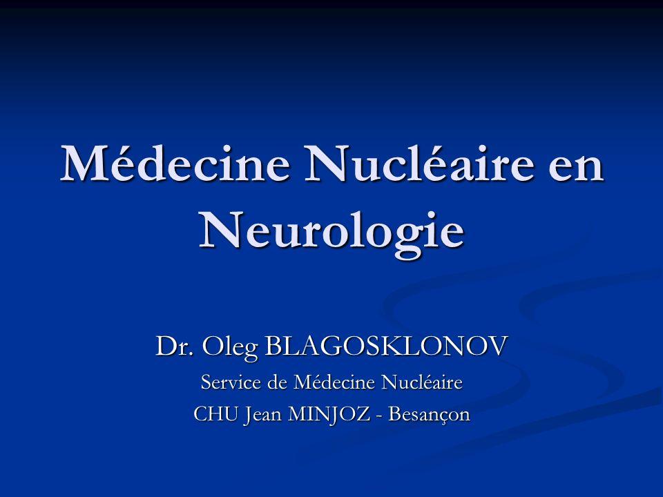 Principes de base Un examen de médecine nucléaire consiste à détecter la distribution dans lorganisme dun traceur radio-marqué introduit préalablement.