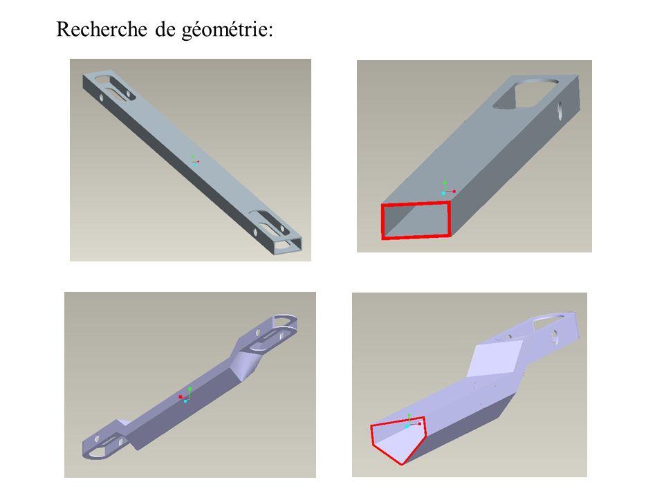 Recherche de géométrie: