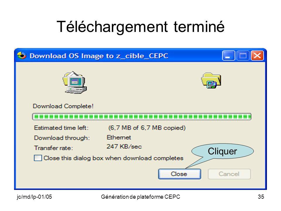 jc/md/lp-01/05Génération de plateforme CEPC35 Téléchargement terminé Cliquer