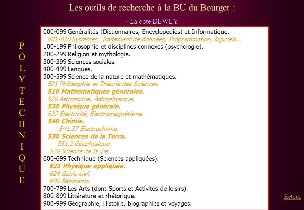 000-099 Généralités (Dictionnaires, Encyclopédies) et Informatique. 001-010 Systèmes, Traitement de données, Programmation, logiciels... 100-199 Philo