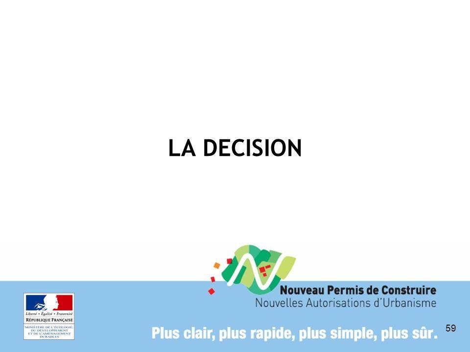 59 LA DECISION