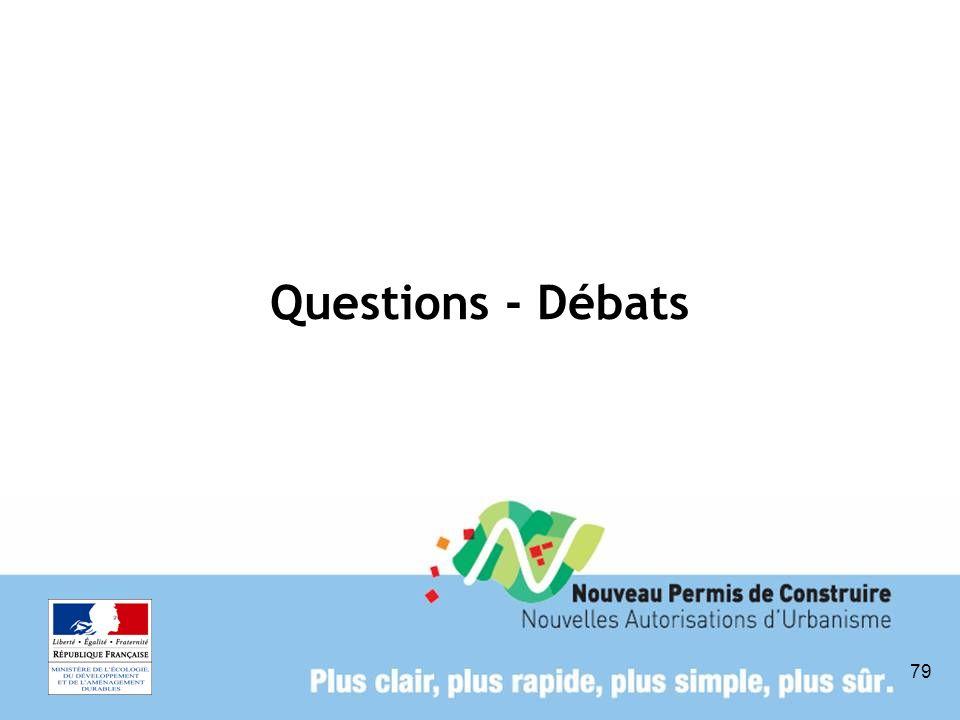 79 Questions - Débats