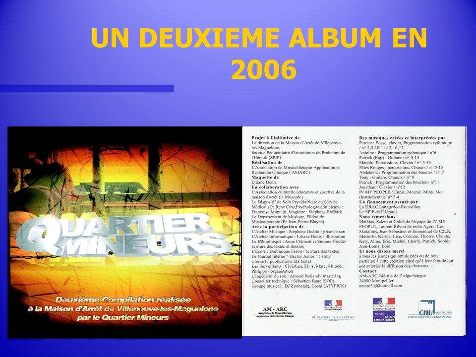 UN DEUXIEME ALBUM EN 2006