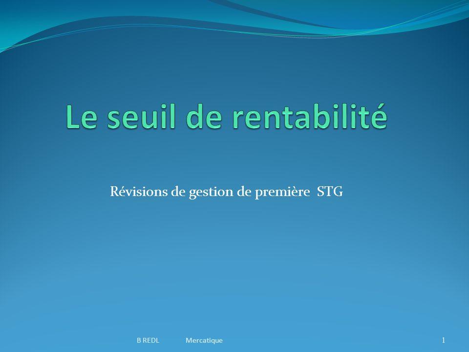 Révisions de gestion de première STG 1B REDL Mercatique