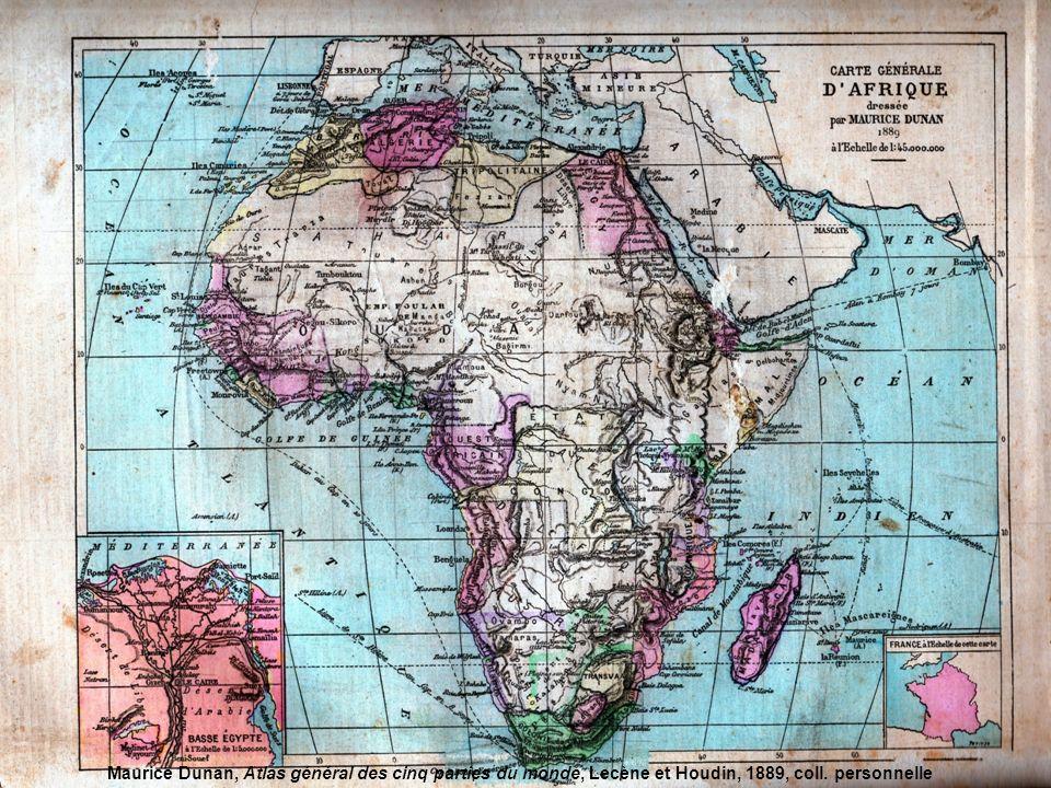 Livre-Atlas de géographie, Cours élémentaire, Larousse, 1916, coll. personnelle