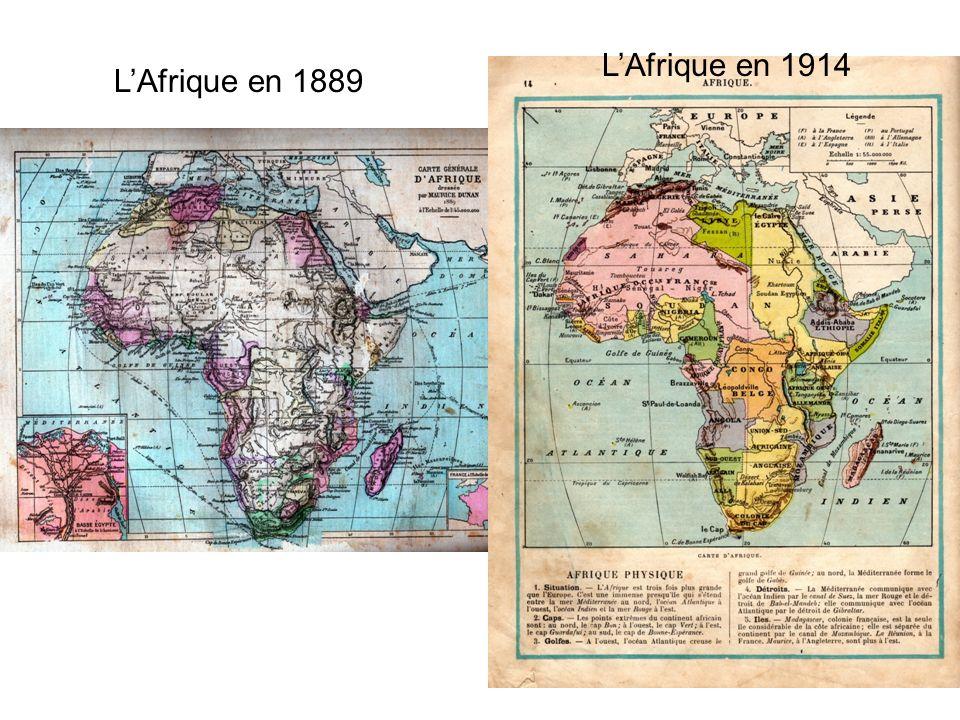LAfrique en 1889 LAfrique en 1914