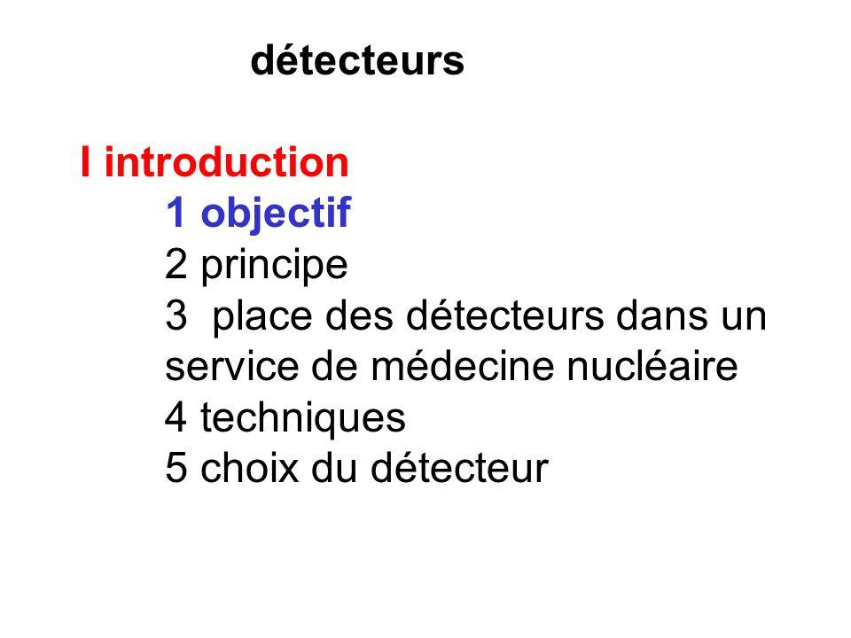 I introduction 1 objectif - nombre de particules : mesure globale ou individuelle - déterminer leur énergie