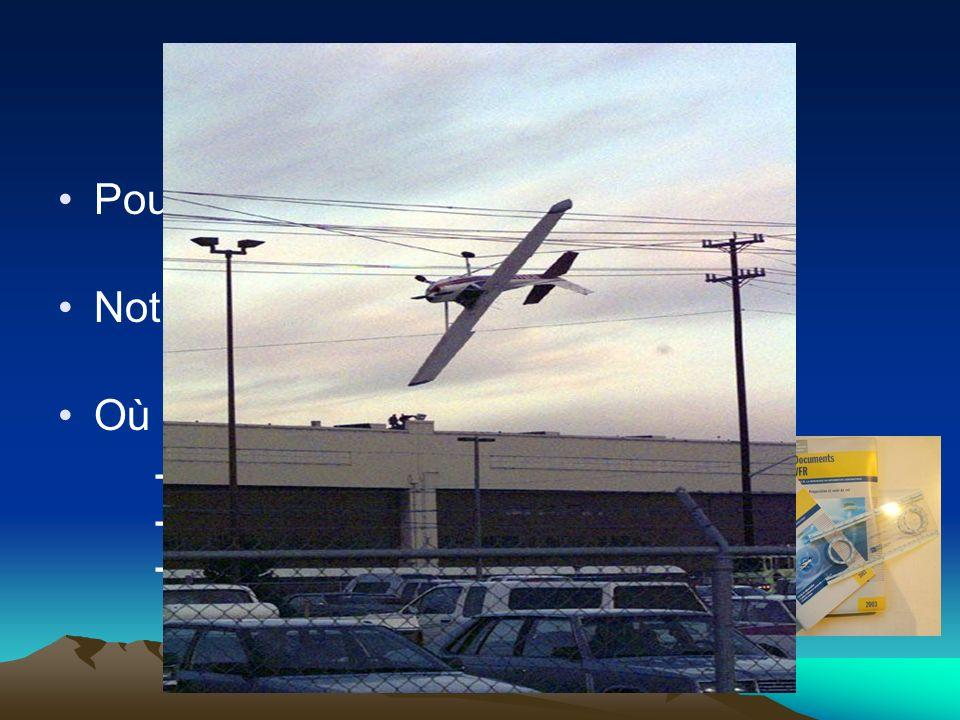Introduction Pourquoi.Sécurité, Sureté, Confort. Notre contexte : Cas du vol VFR monomoteur.