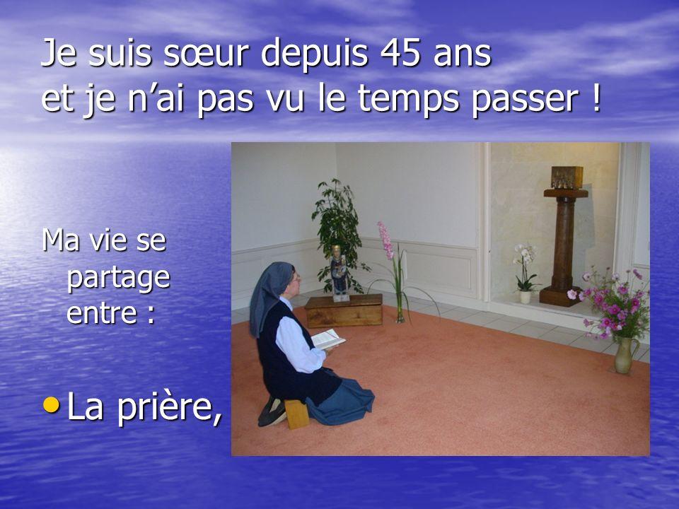 Ensemble, vivre pour Dieu et pour les autres, joyeusement … Chacun faisant son petit point ….