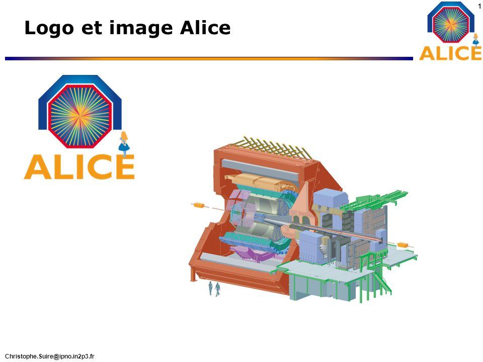 Christophe.Suire@ipno.in2p3.fr 1 Logo et image Alice