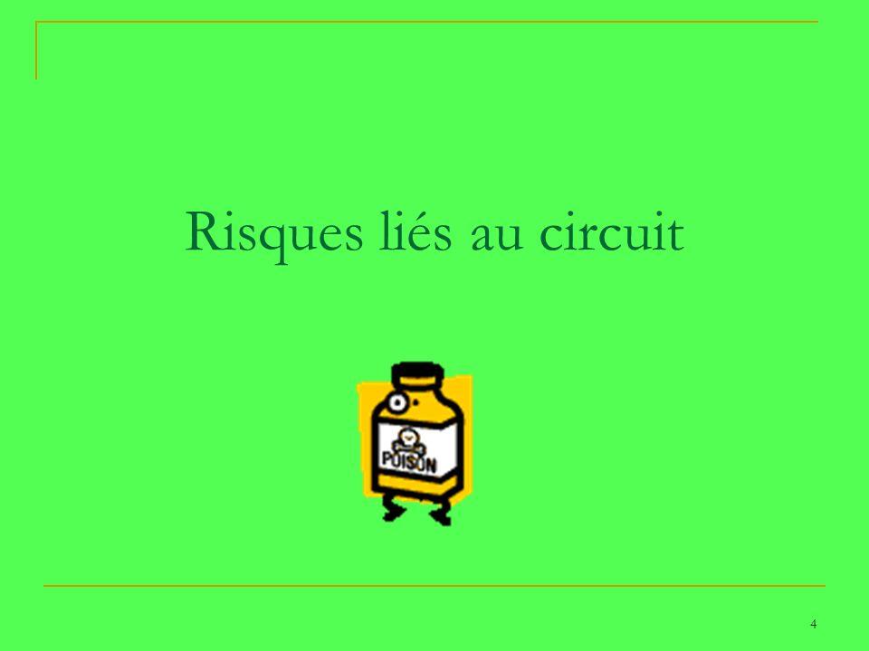4 Risques liés au circuit