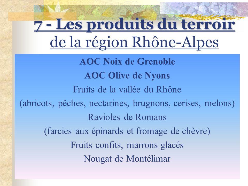 6 – Les vins de la Vallée du Rhône AOC Coteaux du Tricastin AOC Côtes du Ventoux AOC Côtes du Lubéron AOC Costières de Nîmes AOVDQS Côtes du Vivarais
