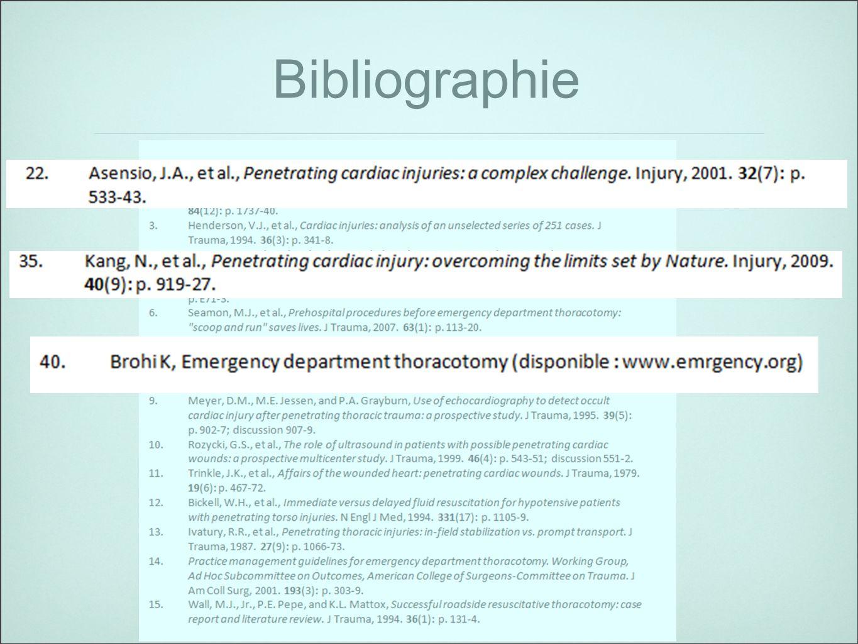 28 Bibliographie