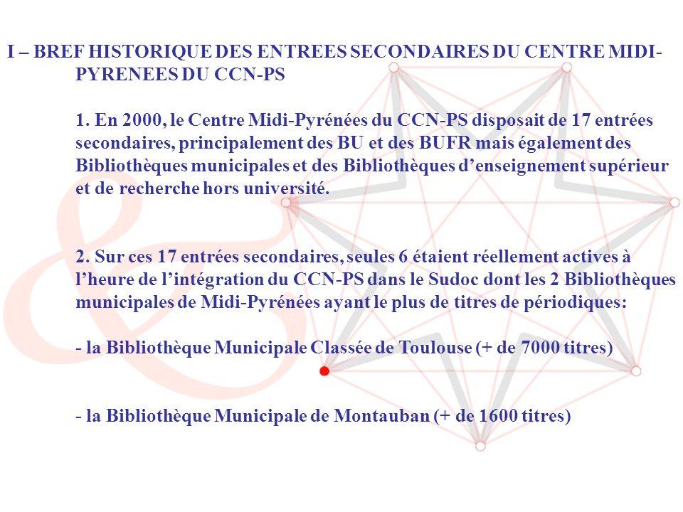 ABES / Journée CR Sudoc-PS (14/06/2006) 3