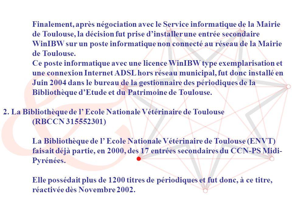 ABES / Journée CR Sudoc-PS (14/06/2006) 5