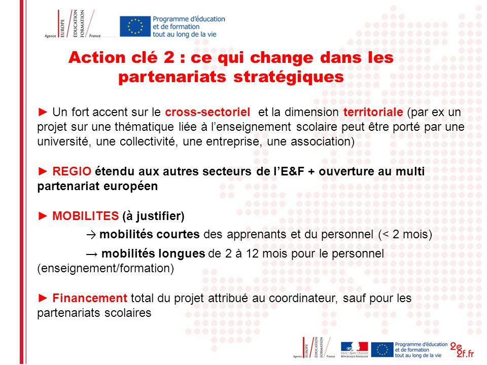 Date: in 12 pts Action clé 2 : ce qui change dans les partenariats stratégiques Un fort accent sur le cross-sectoriel et la dimension territoriale (pa